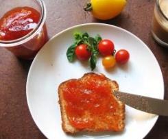 Tomaten-Ingwer-Konfitüre mit Rosmarin