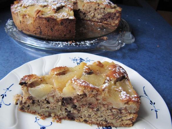 Obst Schoko Walnuss Kuchen Von Sabri Ein Thermomix Rezept Aus Der
