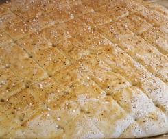 Kräuter Foccacia Grillbrot Brot