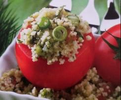 Tomaten mit Tabbouleh (Bulgursalat)