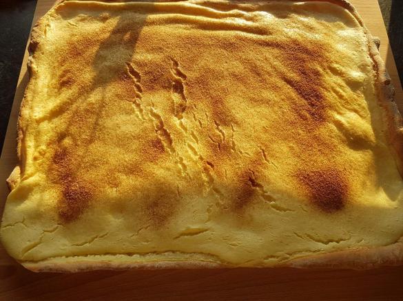 Rahmkuchen Mit Hefeteig Von Juergenal Ein Thermomix Rezept Aus