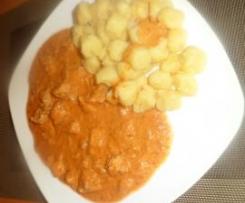Italienischer Fleischtopf mit hausgemachten Gnocchi´s .. himmlisch lecker