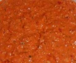 Paprika-Mandel-Marinade für Gemüse (aus den Finessen)