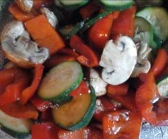 Leckeres Gemüse, Antipasti vegan