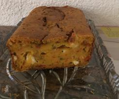 Herzhafter Paprika Feta Kuchen