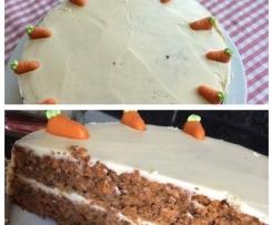 Carrot Cake wie von Starbucks