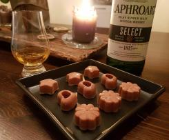 Rauchige Laphroaig-Whisky Pralinen