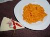 Fusilli alla Salsa Rosalina (Fusilli mit Ricotta-/Tomatensoße)