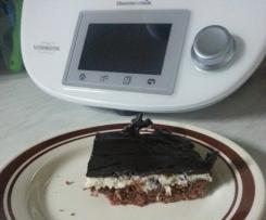 Schwarz-Weiß Kuchen (Schokokuchen mit Kokos-Gries-Creme)