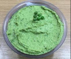 Grünes Erbsen-Hummus