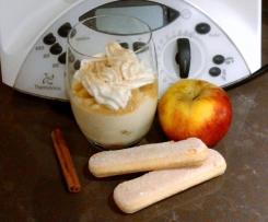 Apfel-Schicht-Dessert