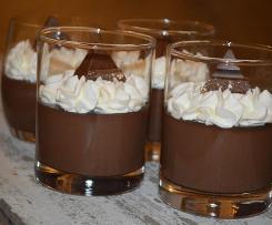 Nussiger Schokoladenpudding der Extra-Klasse