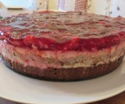 Himbeer-Frischkäse-Torte (ohne Backen)