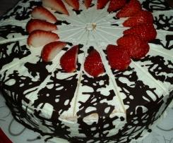 Erdbeer- Jogurette Torte