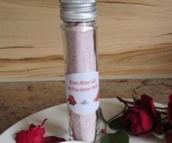 Rosen-Blüten-Salz mit Rosa Beeren Pfeffer