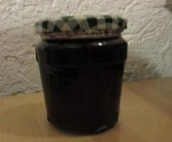 Weintrauben -Holunder Gelee
