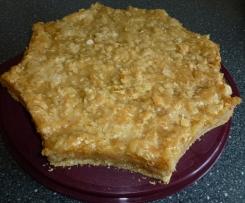 Apfel-Bienenstich-Kuchen