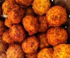 Falafel (Kichererbsenbällchen, vegan)