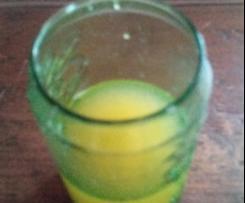 Zitrone-Ingwer-Likör