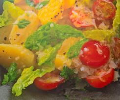 Mediterraner Kartoffelsalat - mit Trüffelöl