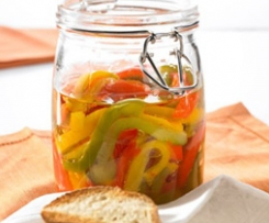 Paprikasalat / Pepper salad (Ensalada de pimientos)