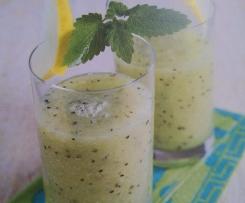 Kiwi-Melonen-Smoothie