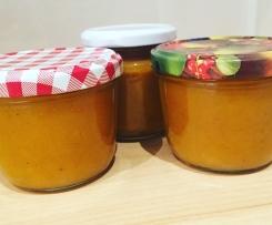 Adventliche Kürbis-Birnen-Marmelade