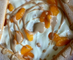 Leckere Mandarinencreme