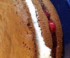 Bisquitboden für Torten z.B. Schwarzwälderkirsch-Torte