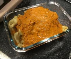 Karottenaufstrich - Nudelsoße