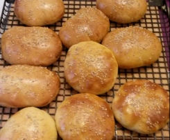 Softe Hamburger Brötchen