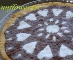 Mürbeteigkuchen mit Mandeln und Schoko