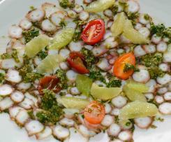 PULPO (Octopus) CARPACCIO - Sterneküche