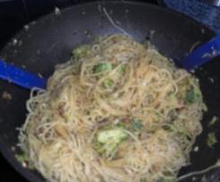 Spaghetti Brokkoli Carbonara