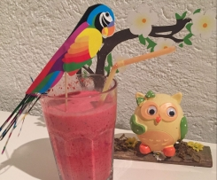 Himbeer-Sahne Cocktail