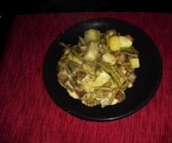 Tofu-Kartoffel-Bohneneintopf