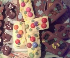 Formschokolade / Bruchschokolade