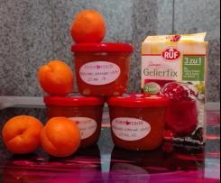 Aprikosenmarmelade mit Vanille und Zimt