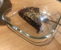 Schokoladenkuchen der guten Vorsätze (zuckerfrei)