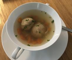 Suppenklöße aus Zwieback