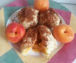 Aprikosenknödel mit Kartoffelteig
