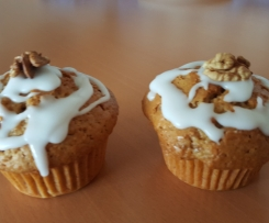 Möhren-Walnuss-Muffins