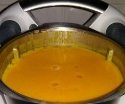 Variation Kürbissuppe