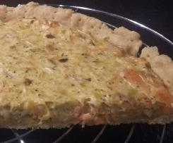 Steffi's Lachs- Lauch-Tarte