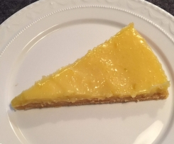 Tarte au citron ohne backen