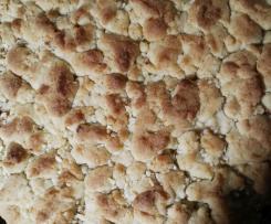 Apfelkuchen mit Streuseln (vegan)