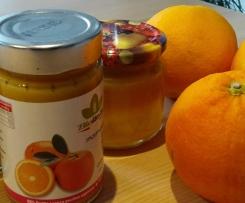 Orangenmarmelade bio, ohne Zucker