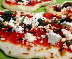 Veganes Naanbrot / Naanpizza