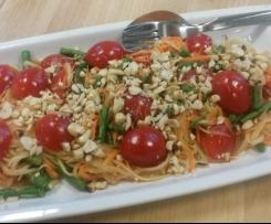 Original thailändischer Papayasalat / Karottensalat