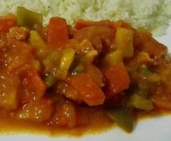 Lecso (Paprika-Gulasch)